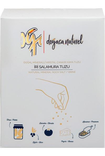 Doğaca Naturel Doğal Çankırı Kaya Salamura Tuzu-Çankırı Kaya TUZU-1500 Gr-