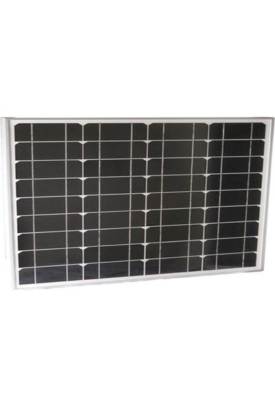 Monokristal Güneş Paneli 45 Watt A+ Kalite