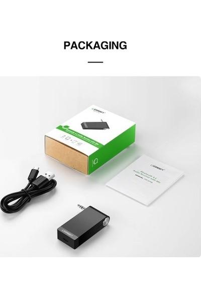 Ugreen Bluetooth 5.0 Ses Alıcısı Adaptör Aptx Ll Aux Destekli 3.5mm Adaptör