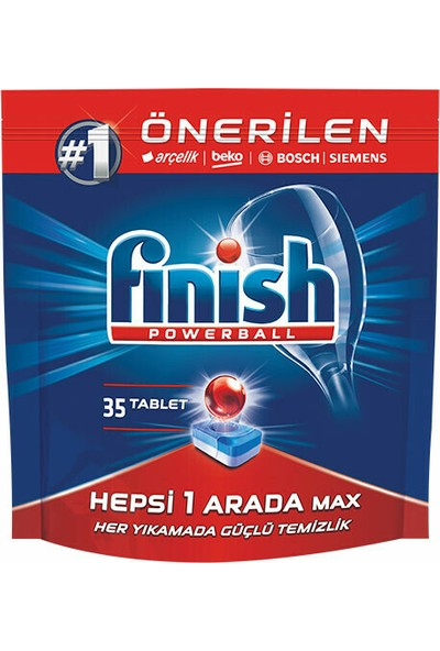 Finish Hepsi Bir Arada 35 Tablet Bulaşık Makinesi Deterjanı