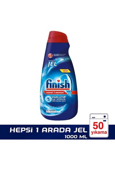 Finish Bulaşık Makinesi Deterjanı Hepsi 1 Arada Jel Konsantre 1000 ml 50 Yıkama