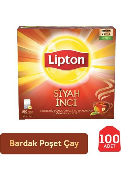 Lipton Bardak Poşet Çay-Siyah İnci 100'lü
