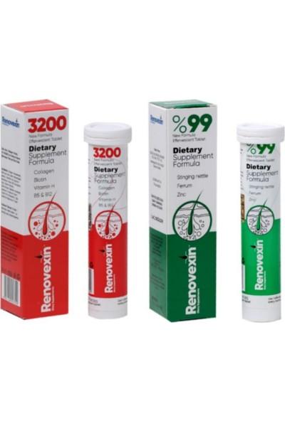 Renovexin Kırmızı & Renovexin Yeşil Tablet