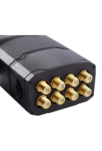 Atlanta Ultra Octo Sekizli Sekiz Çıkışlı 4K Full HD LNB (Gold Konnektör/8 Uydu Alıcıda Kullanım)
