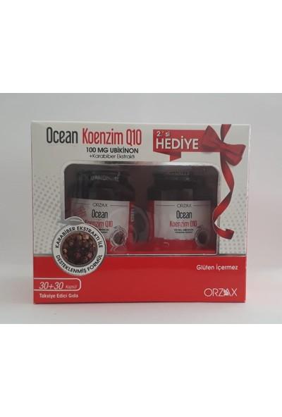 Orzax Ocean Keonezim Q10 30 Kapsül | Ikincisi Hediye