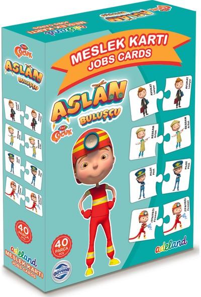 Adeland TRT Çocuk Aslan Meslek Kartları