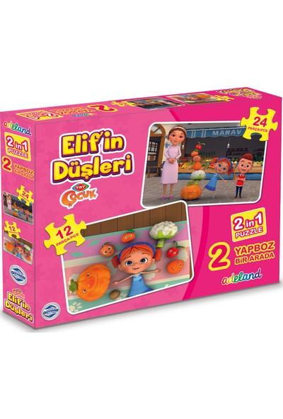 Adeland TRT Çocuk Elif'in Düşleri 2 In 1 Puzzle