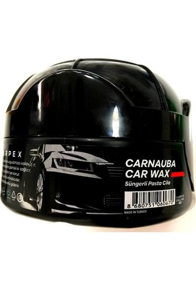 Carpex New Carnauba Car Wax Süngerli Pasta Cila 275 gr.