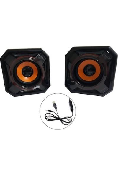 Versatile SPV910 5W Güçlü Ses Extra Bass Hoparlör Speaker 1+1