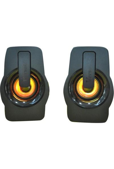 Versatile SPV900 5W Güçlü Ses Extra Bass Hoparlör Speaker 1+1