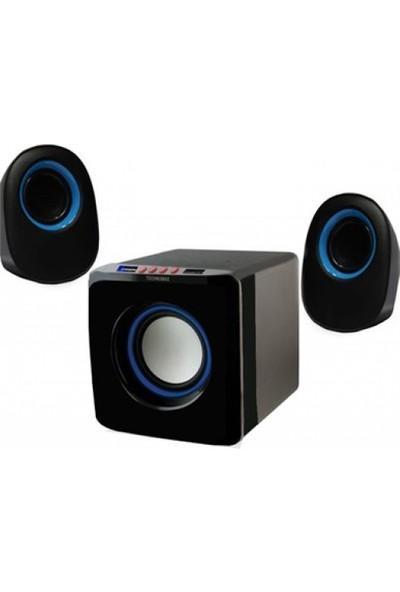Technomax TM-2031 USB/SD/BT 2 + 1 Ses Sistemi