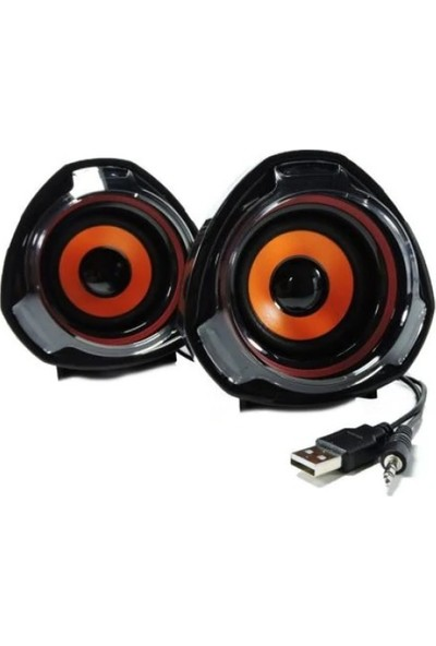 Versatile SPV905 5W Güçlü Ses Extra Bass Hoparlör Speaker 1+1