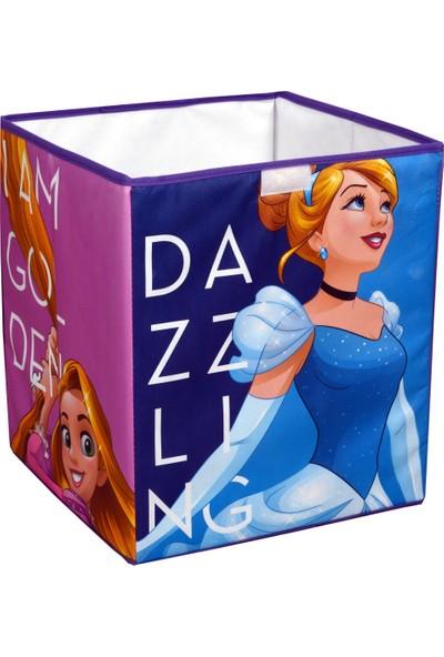 Gokidy Disney Frozen Prenses Çok Amaçlı Katlanabilen Oyuncak Saklama Kutusu 40 Lt