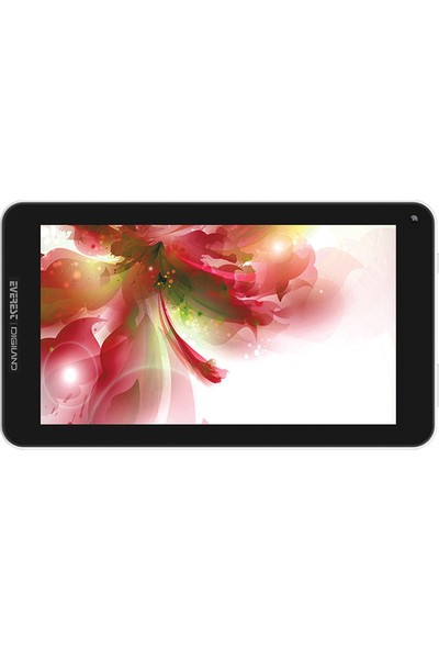 "Everest Digiland DL7006-KB 7"" 8GB IPS Wi-Fi Tablet Beyaz"