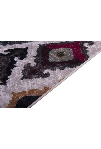 Caricia - Painting Renkli Modern Halı Dijital Baskı Lateks Dolgu Taban 80 x 150 cm CH-100590