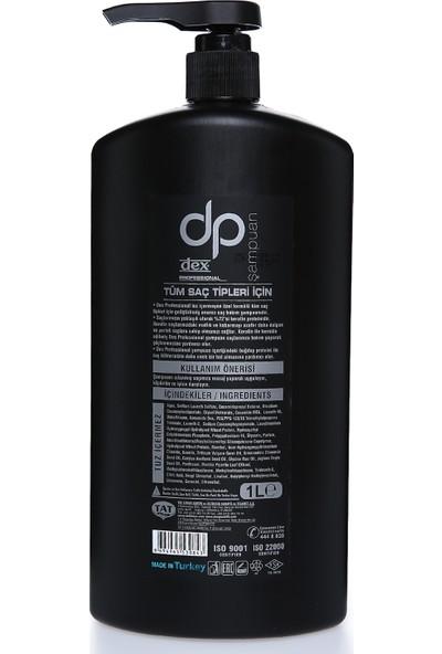 Dp Şampuan 1000 Ml Siyah Mentollü