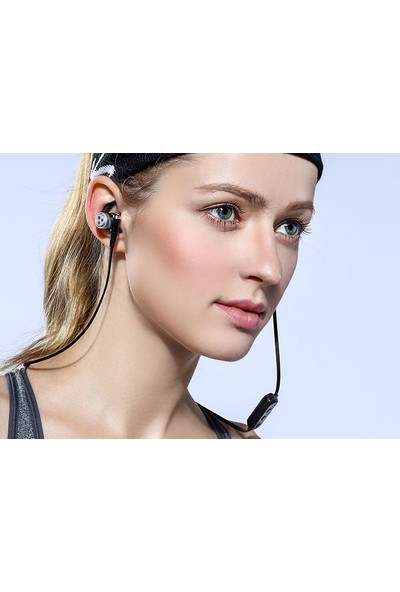 Snopy SN-J7BT Telefon Uyumlu Bluetooth Kulak içi Gri Mikrofonlu Kulaklık
