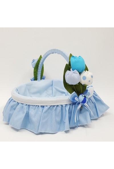 Baby Lüks Bebek Odası Bebek Şeker Sepeti - Hediye Sepeti ( Laleli Serisi )