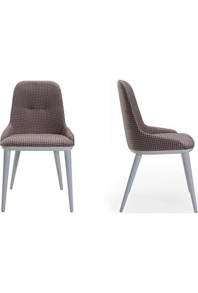 ModaMassa 1053 Prada Sandalye Beyaz