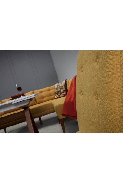 ModaMassa Köşe Koltuk Masa Sandalye Takımı Rio 3025