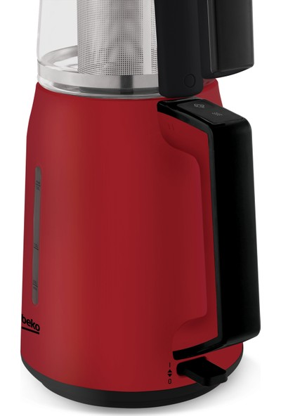 Beko CM 2940 1750 W Cam Demlikli Çay Makinesi