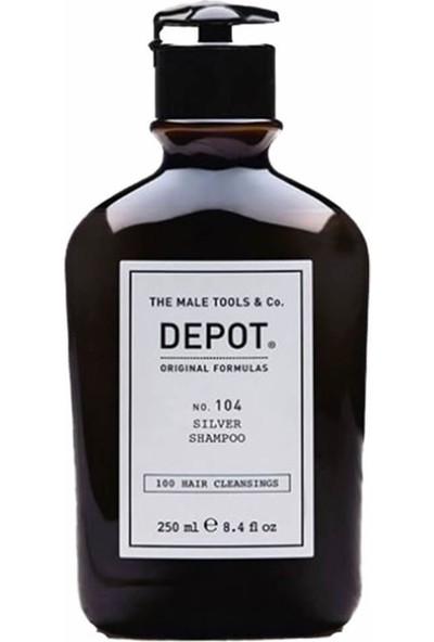 Depot Erkeklere Özel Silver Saçlar Için Şampuan NO.104 250 ml