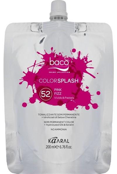 Baco Colorsplash Yarı Kalıcı Saç Boyası 52 Pembe