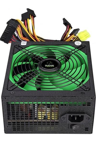 Gametech GTP-600 600W 80 Plus Bronze Power Supply PC Güç Kaynağı