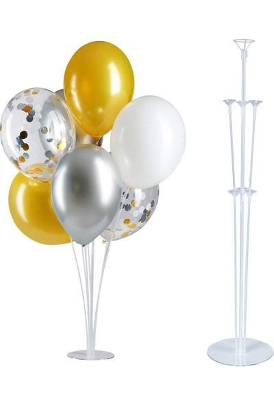 Parti Burada Balon Standı Ayaklı 7'li