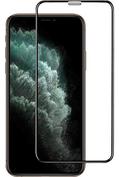 Microcase Apple iPhone 11 Tempered Ekran Koruyucu Cam - Siyah