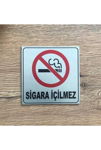 Se -Dizayn Sigara İçilmez Tabelası Kapı Ve Duvar Yönlendirme Levhası 10X10cm