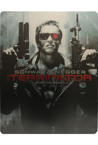 The Terminator - Terminatör - Bluray Limited Edition Steelbook