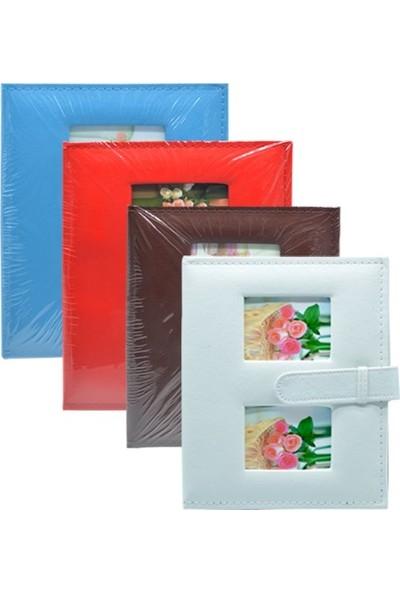 Nobby Star 200'lük Deri Fotoğraf Albümü 10x15 Kırmızı