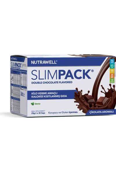 Slimpack Çikolata (Double Chocolate) Aromalı 23g x 30 saşe