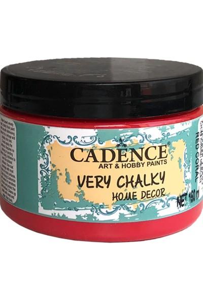 Cadence Very Chalky Mobilya Boyası 150 ml CH49 Mercan Kırmızı