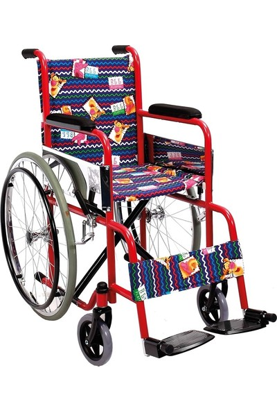 Mor Medikal Manuel Tekerlekli Sandalye Çocuk Golfi - 2 C Ithal