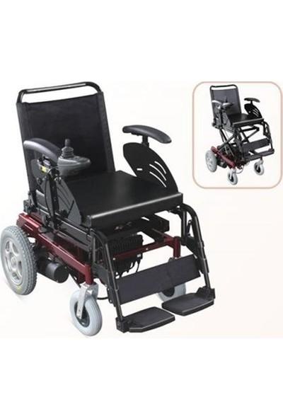 Mor Medikal Wollex W124 Akülü Tekerlekli Sandalye