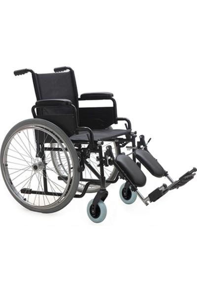 Mor Medikal DM - 303 Özellikli Tekerlekli Sandalye - Ayak Kalkarlı