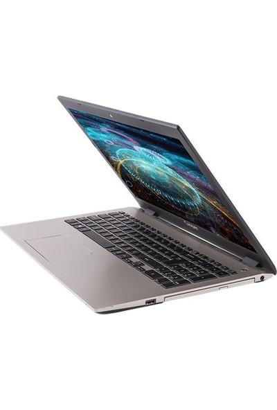 """Casper Nirvana F650.8250-8D55F-S-F Intel Core i5 8250U 8GB 240GB SSD MX130 Windows 10 Home 15.6"""" FHD Taşınabilir Bilgisayar"""