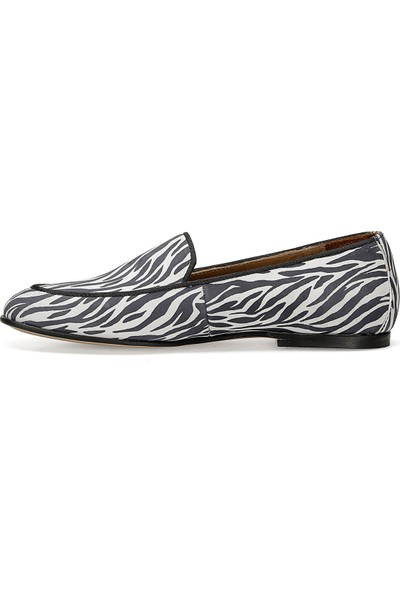 Nine West Garme Zebra Kadın Loafer Ayakkabı