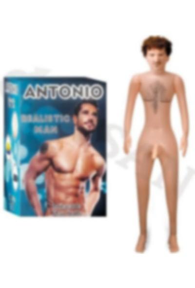 Antonio Gerçekçi Erkek Şişme Bebek