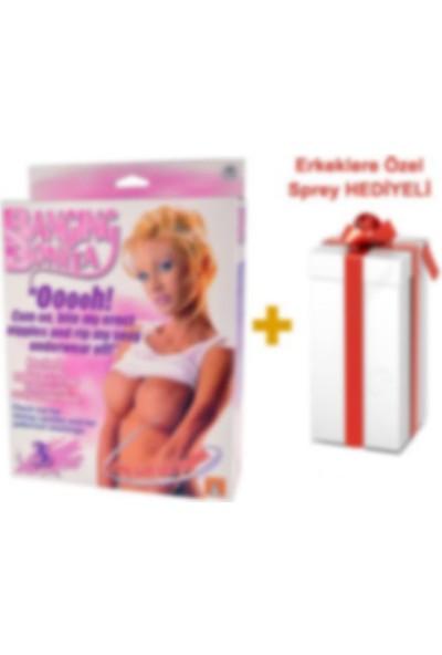 Lovetoy Bonita 3 İşlevli Gerçekçi Boyutta Şişme Bebek + Sprey Hediyeli