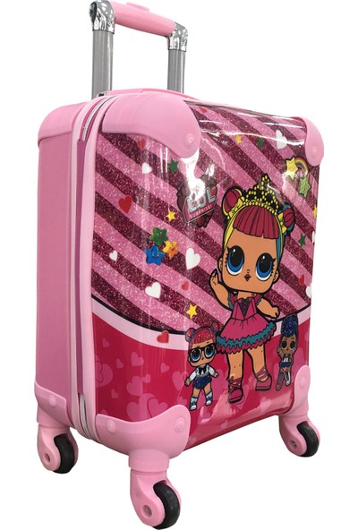 Gnc Design Mor Surprise Kız Çocuk Valizi