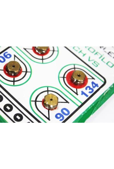 Arçeli̇k Aeg Profilo Bosch Vs Için Uyumlu Doğalgaz Enjektörleri 4lü