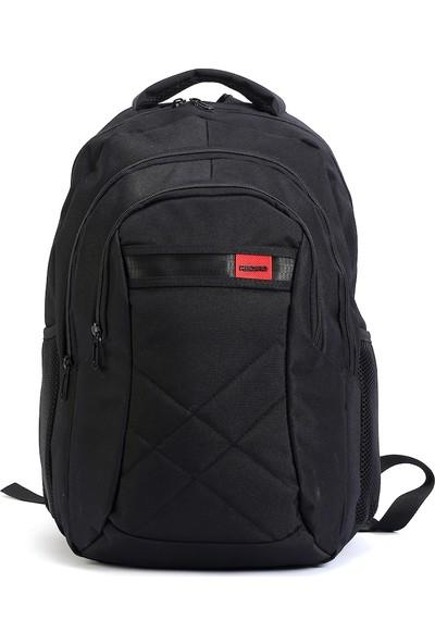 """Recaro Laptop Notebook Sırt Çantası 15.6"""" Siyah"""