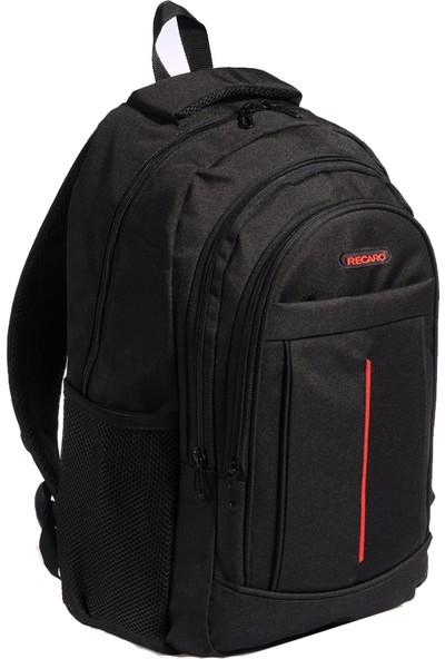 Recaro Laptop Notebook Sırt Çantası 17'' Siyah