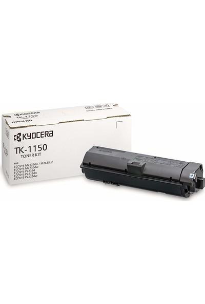 Kyocera Tk-1150 Toner 3000 Sayfa Siyah