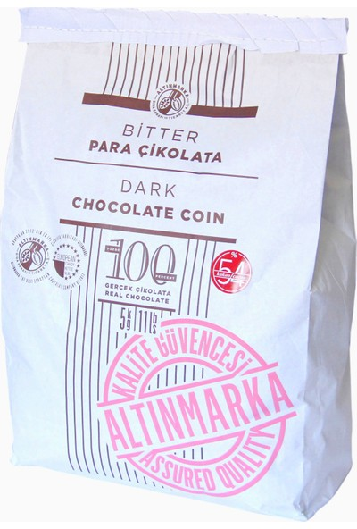Altınmarka Bitter Para Çikolata 5 kg 56 Kakao