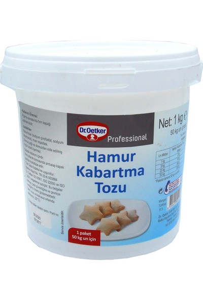 Dr. Oetker Hamur Kabartma Tozu 1 kg