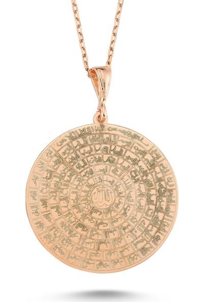 İnci Gümüş Esmaül Hüsna Allahın 99 Isimi Gümüş Kolye - Inci Gümüş